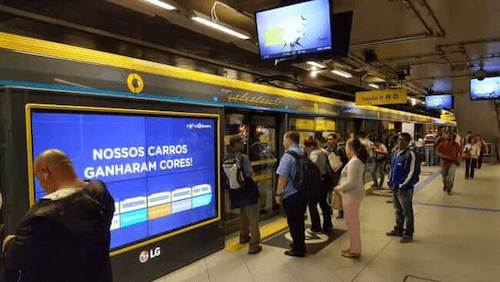 AVNetwork: AdMobilize Audience Analytics Installed in Sao Paolos Main Subway System